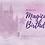Thumbnail: Purple Magical Birthday Card