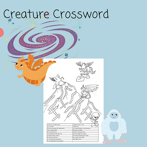 Creature Crossword