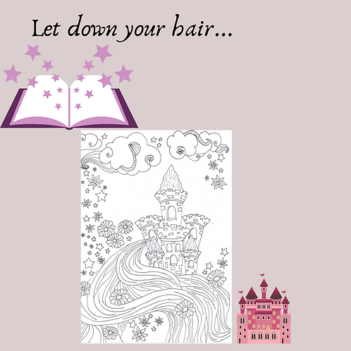 Let down your hair... coloring