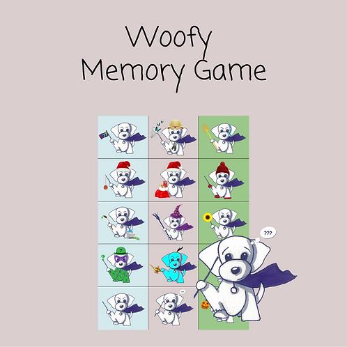 Woofy's Memory Game