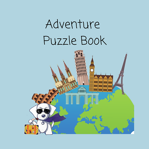 Adventure Puzzle Book - 5 puzzles for FREE