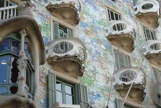 Presentación sobre la arquitectura de Antonio Gaudí (España). PowerPoint