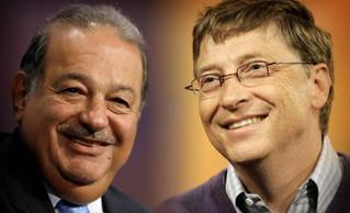 Decálogos de Carlos Slim y Bill Gates para administrar una empresa. De10.MX