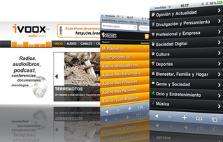 Ivoox. Audiokiosco. Radios, audiolibros, podcast, conferencias, documentales...
