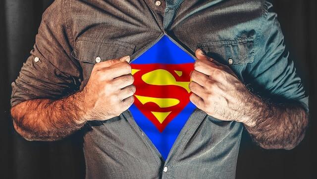 Super herói - Cursos de idiomas - Baucis Languages