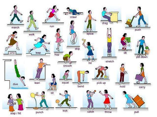 Movement verbs