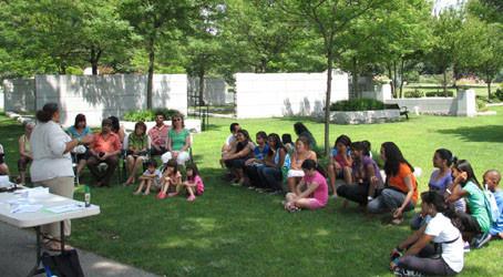 Summer Science Workshop for Children Earthworms—Hands On
