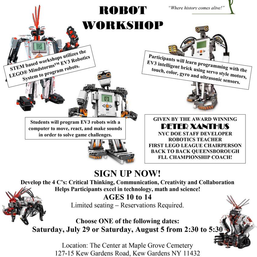 Robot Workshop 2017