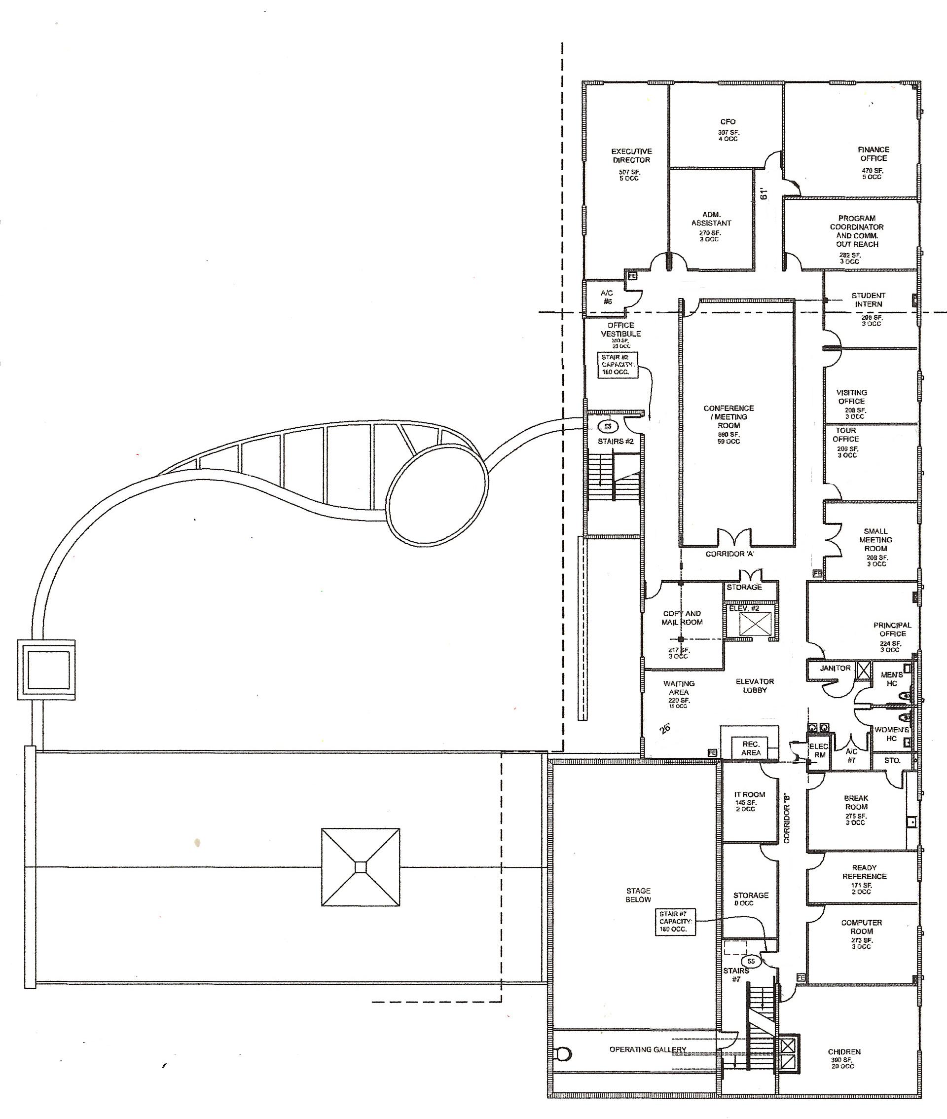 Third Floor Rental Space