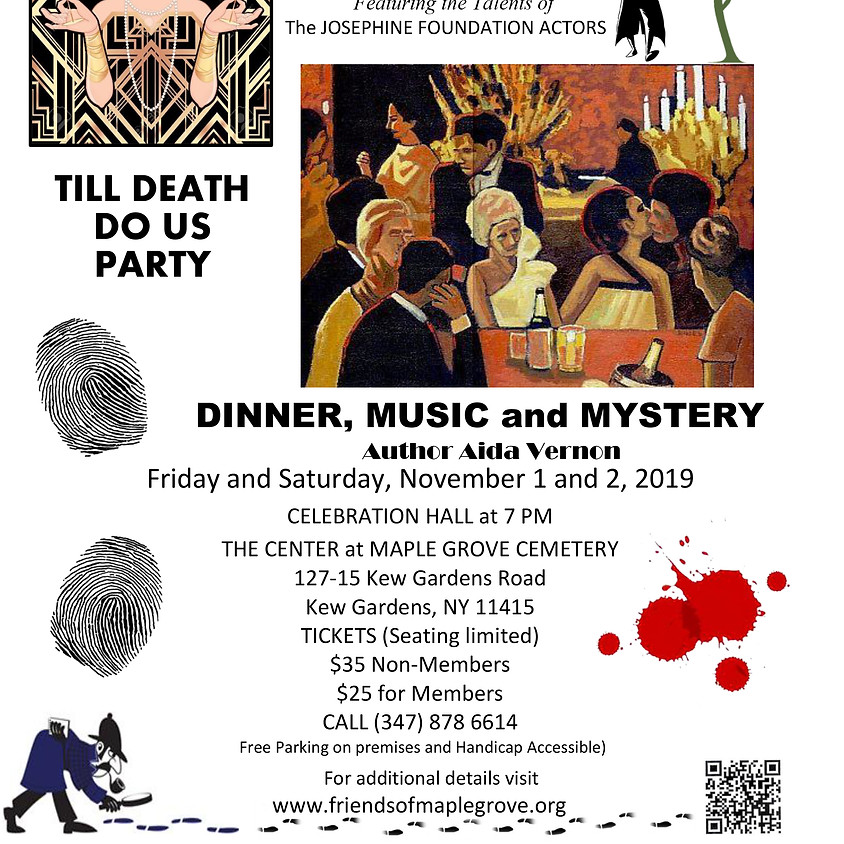 Murder Mystery Weekend - Day 2 (Saturday, Nov 2) **SOLD OUT**