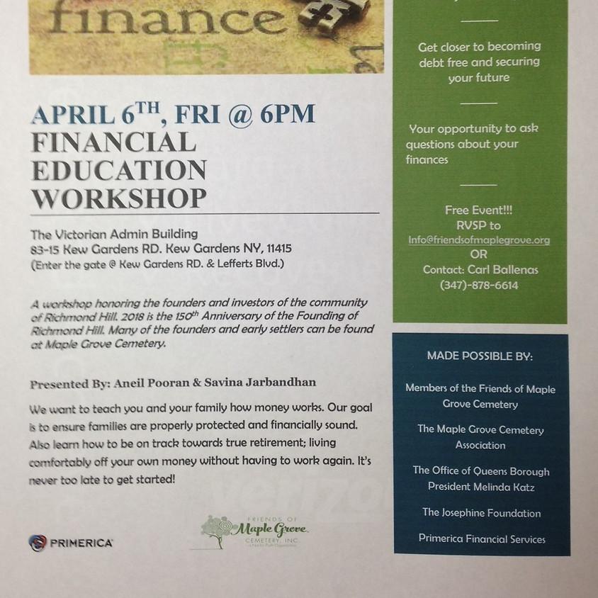 Financial Education Workshop