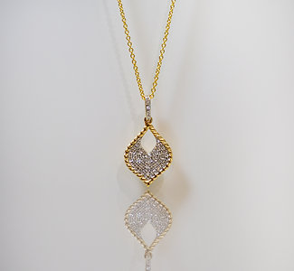 Heart Drop Necklace