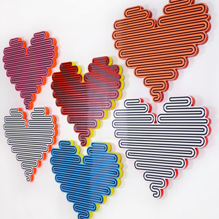 Large hearts