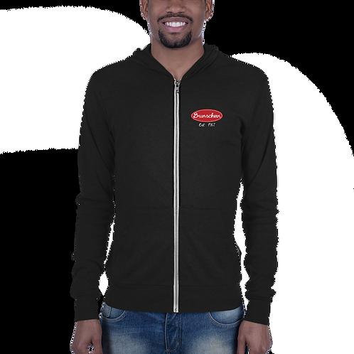 "Robert Brunscheen Trucking ""Peterbilt"" Front Unisex zip hoodie"