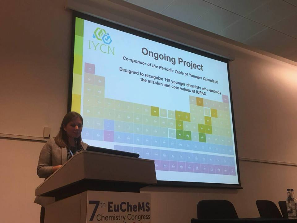 IYCN Presentation at EuCheMS2018, Liverpool, UK