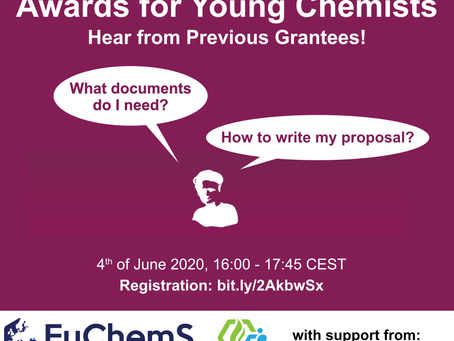 Fellowships and Awards for Young Chemists - Hear from Previous Grantees!