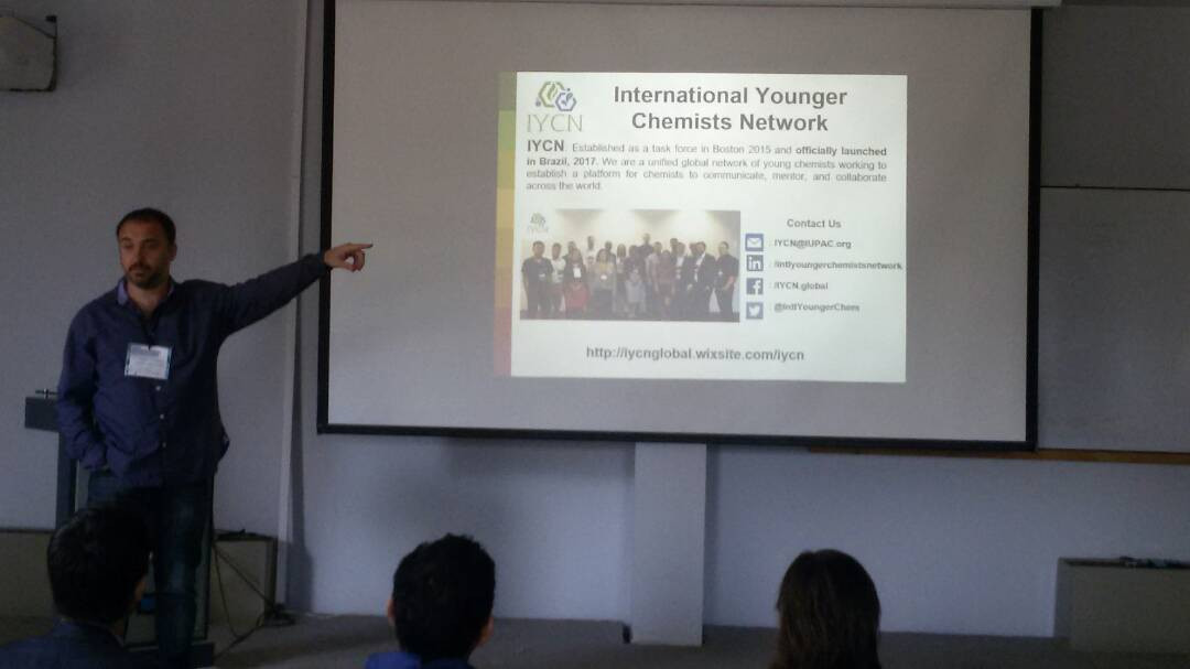 IYCN presentation at the 1st TYAN International Thematic Workshop in Photoelectrochemistry, Argentina 2018