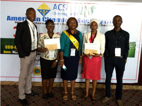 IYCN co-organised the poster session at the 3rd Annual Symposium of ACS Nigeria International Chemic