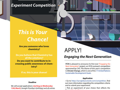 IYCN Outreach Competition: Engaging the Next Generation