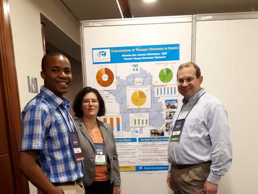 IYCN members at  IUPAC 2017, São Paulo