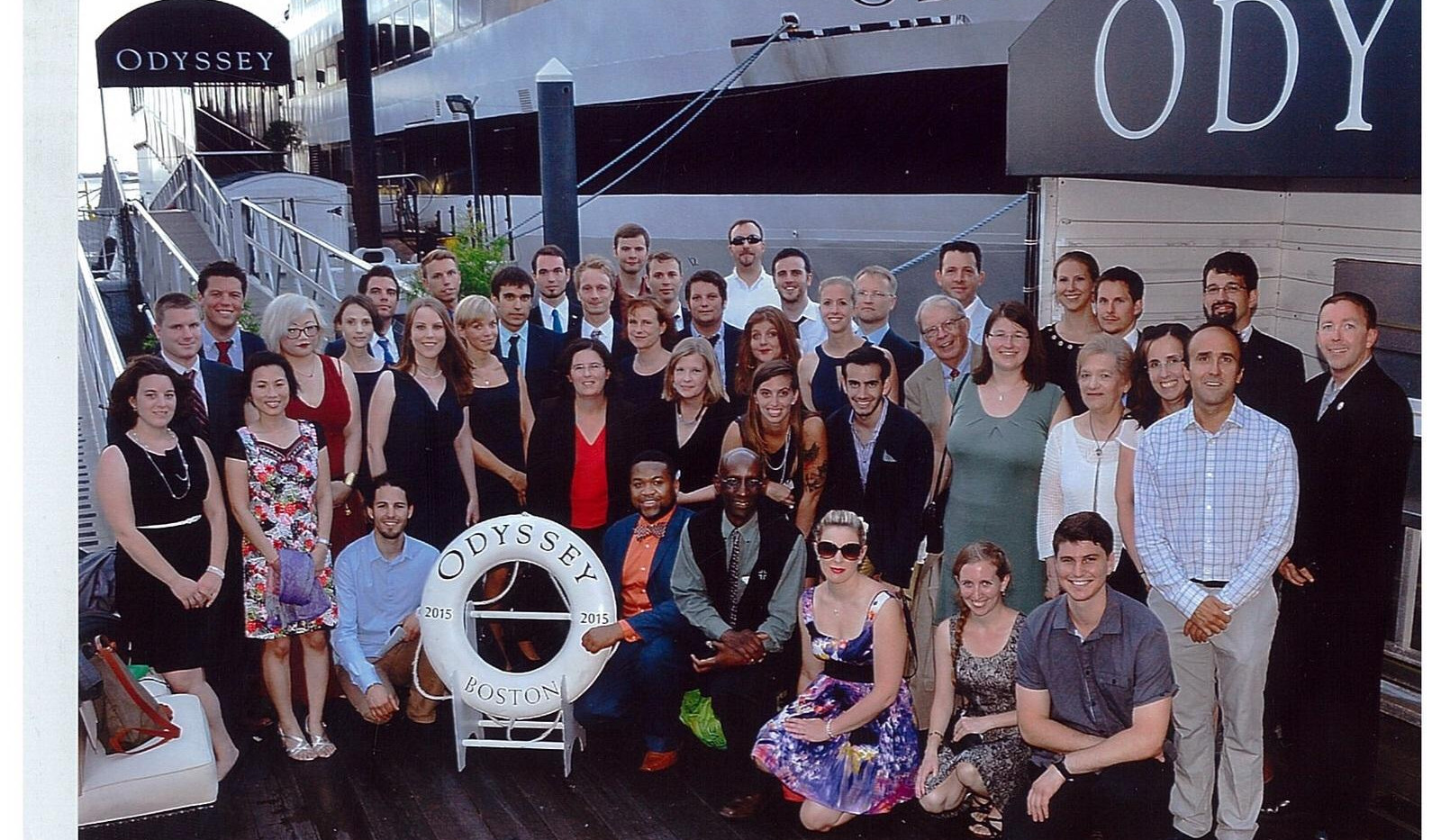 IYCN at the Odyssey cruise, 2015