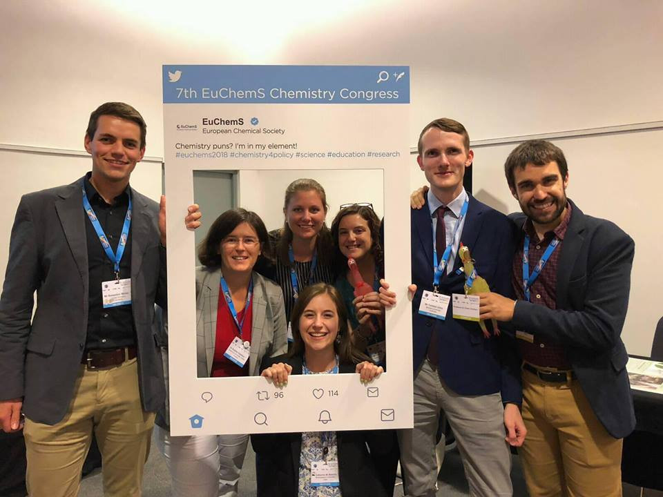 IYCN members at EuCheMS2018, Liverpool, 2018