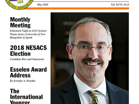 IYCN is on the front cover of NUCLEUS