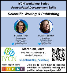 Flyer_Scientific Writing and Publishing.