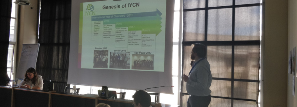 IYCN at the EYCN delegates assembly in Torino, Italy, 2018