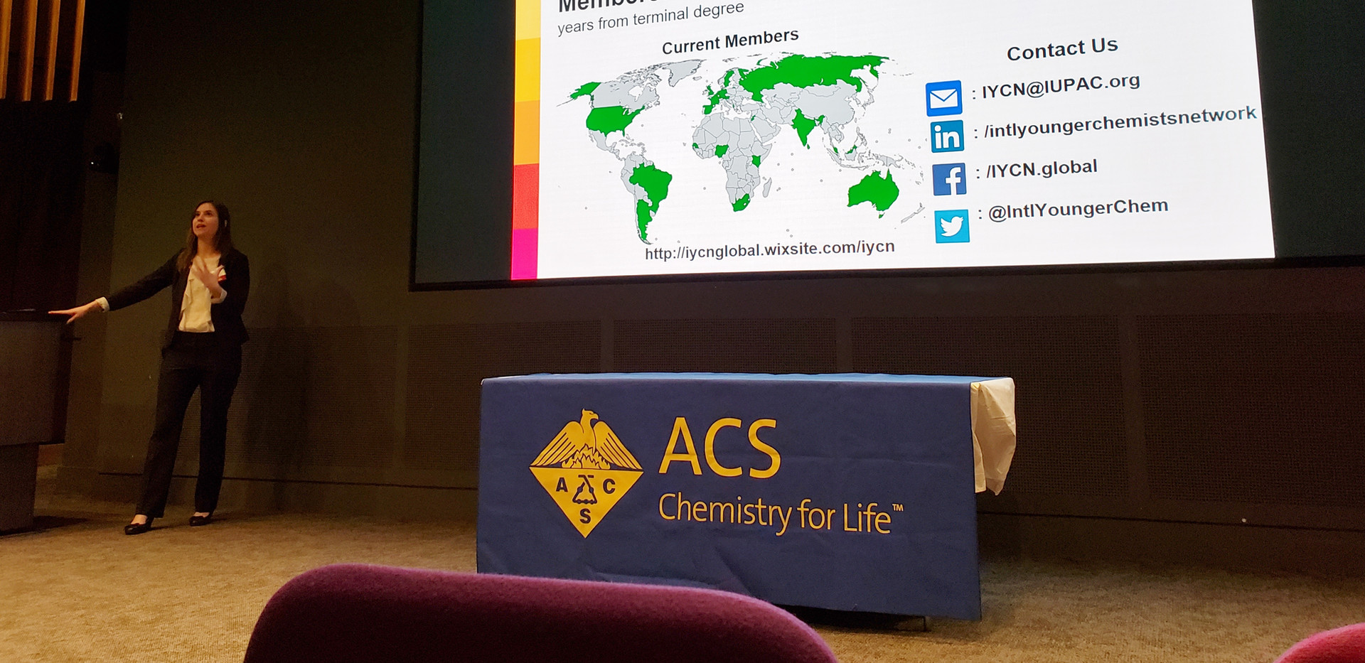 5minute Presentation at the Northeast Student Chemistry Research Conference, Boston, 2018