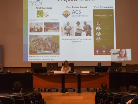 IYCN Presence at the 2nd Chemistry Conference of Graduate, Postgraduate students and PhD candidates