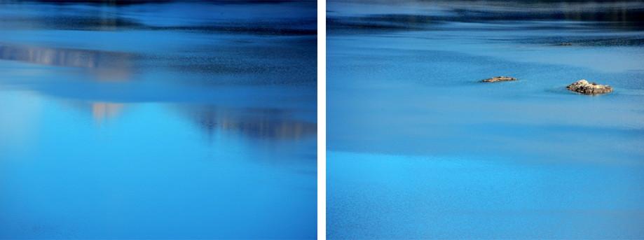 """DAY 173:  """"BLUE STROKES""""  -  2015  Bariloche, Argentina"""