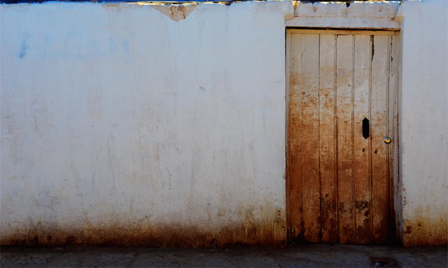"""DAY 137:  """"WHITE WALL""""  -  2014  San Pedro de Atacama, Chile"""