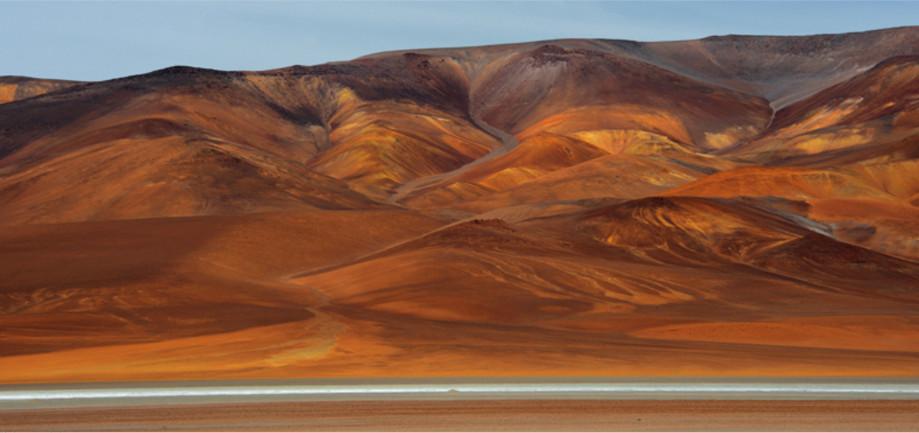 """DAY 146:  """"EARTH FOLDS"""" -  2014  Atacama, Chile"""