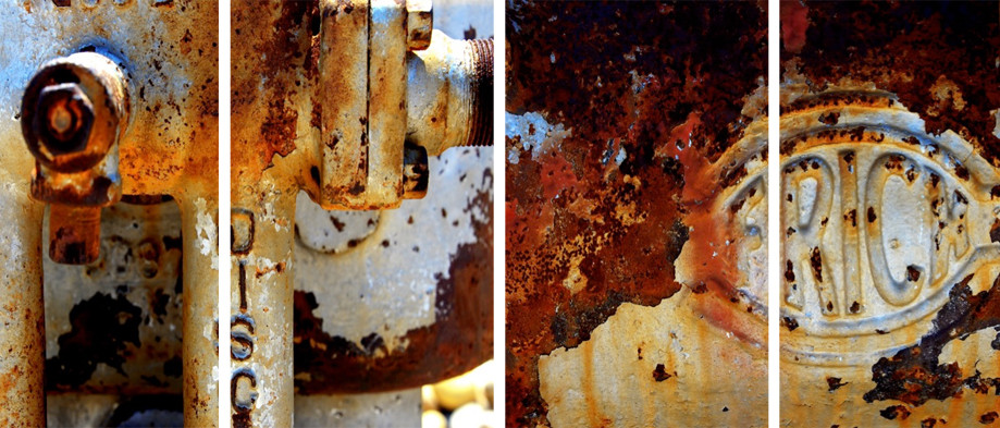 """DAY 80:  """"RUSTED VALVES""""  -  2014  Valle de Guadalupe, México"""