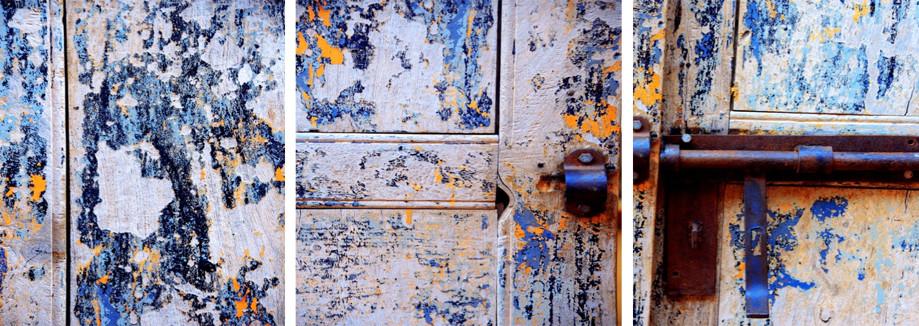 """DAY 157:  """"OLD DOOR LOCK""""  -  2014  Valle de Guadalupe, México"""