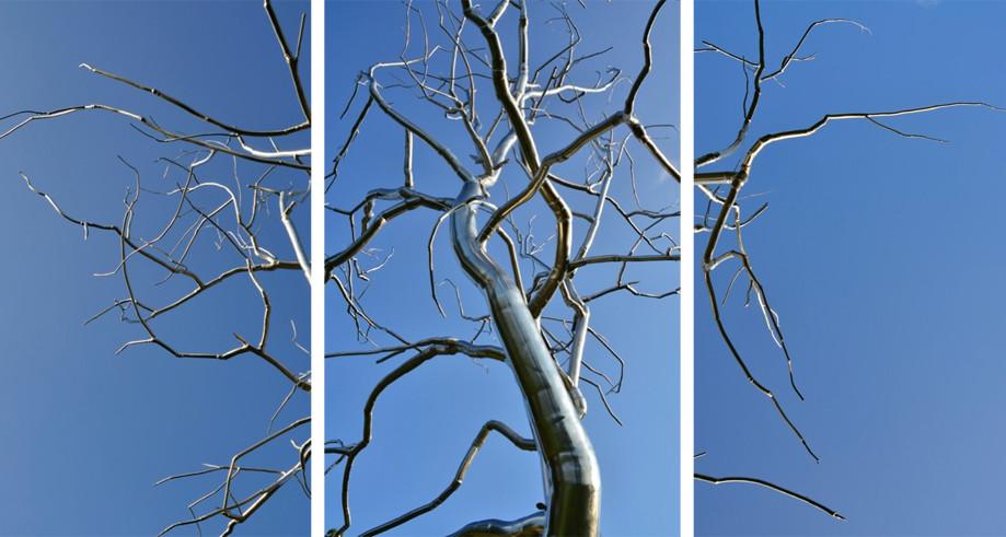 "DAY 158:  ""STEEL TREE B""  -  2011  St. Louis, USA"