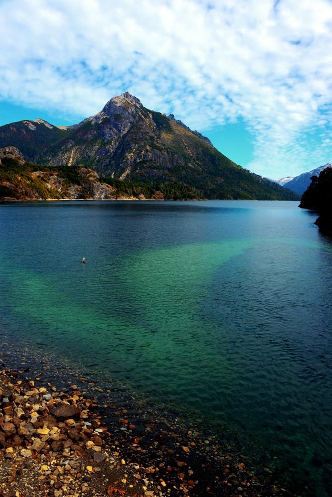 "DAY 119:  ""ENCHANTED LAKE""  -  2015  Bariloche, Argentina"