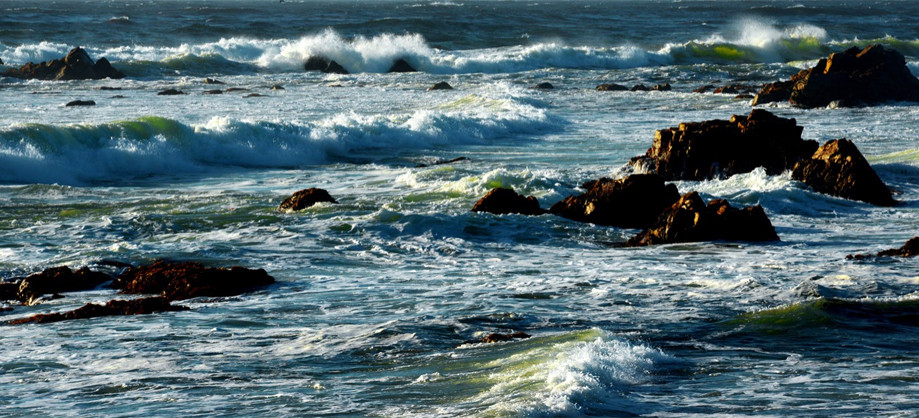 "DAY 117:  ""BREAKING  THE WAVES B""  -  2013  Carmel, USA"