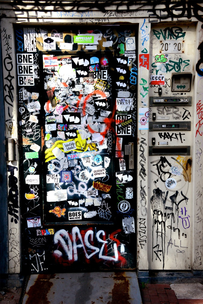 """DAY 161:  """"BOE$ WAS HERE""""  -  2012  Amsterdam, Netherlands"""