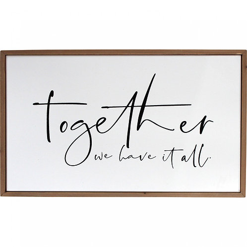 Together Sign Wall Décor