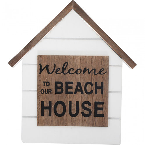 Welcome Beach Home Sign