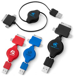 USB 3-way adapter charger