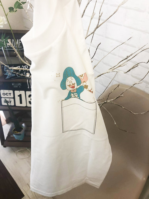 予祝くんTシャツ(ホワイト)Sサイズ