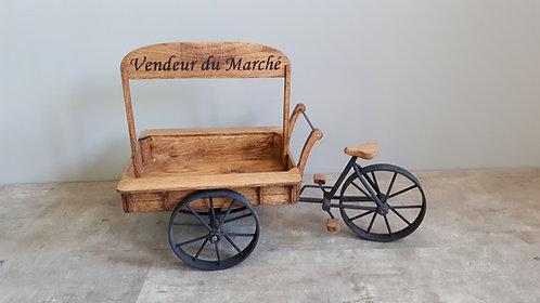 """""""Vendeur du Marché"""" """"Blommekes"""" - Bakfiets"""