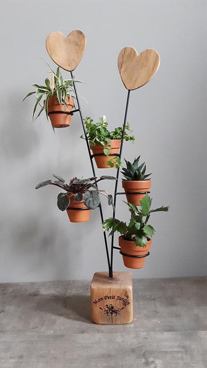 """Mon Petit Jardin"" - Mini plantenstandaard"