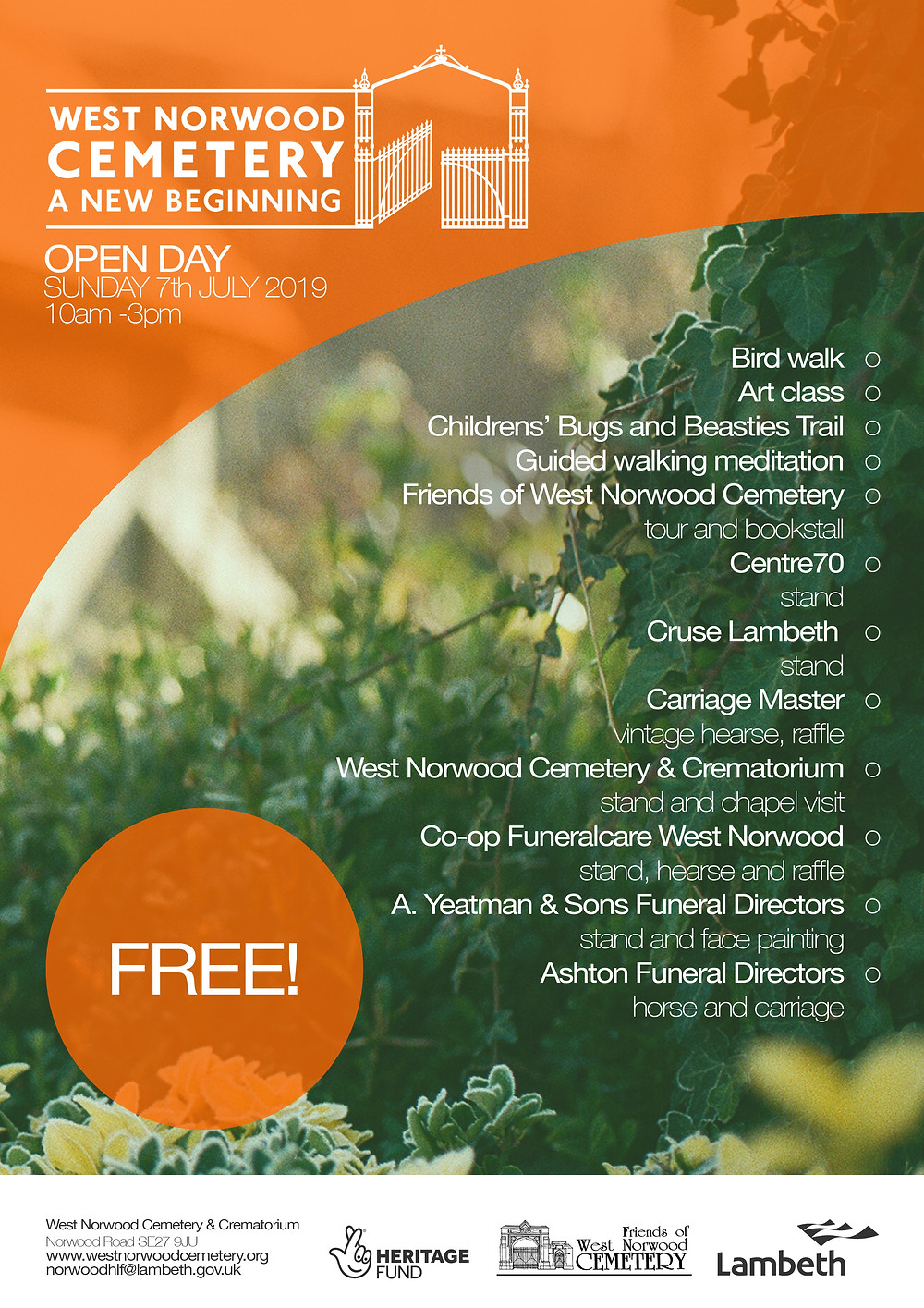 Open Day info - click to download