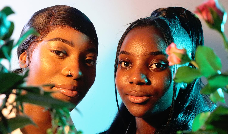 Teyarne & Rosae Abrahams, models