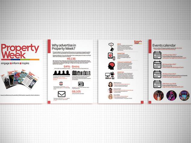 Property Week brochure
