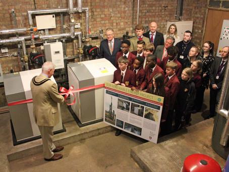 The UK's largest school-based Heat Pump project at the Royal Alexandra & Albert School